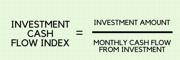 Investment Cash Flow Index